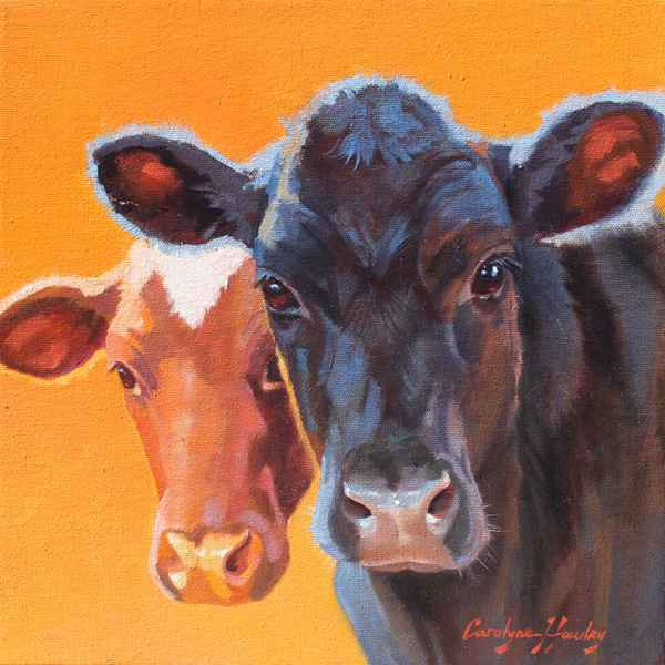The Two of Us by  Carolyne Hawley - Masterpiece Online