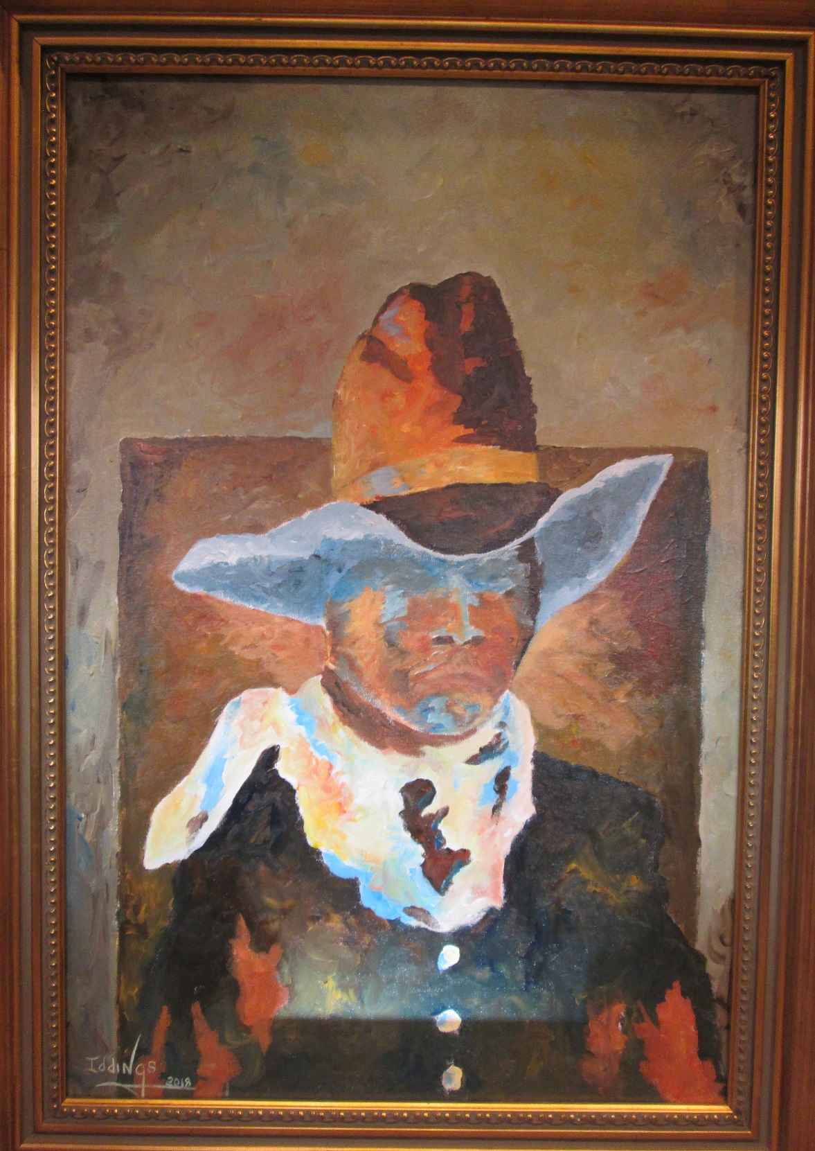 Cowboys and Indians by  Sam Iddings - Masterpiece Online