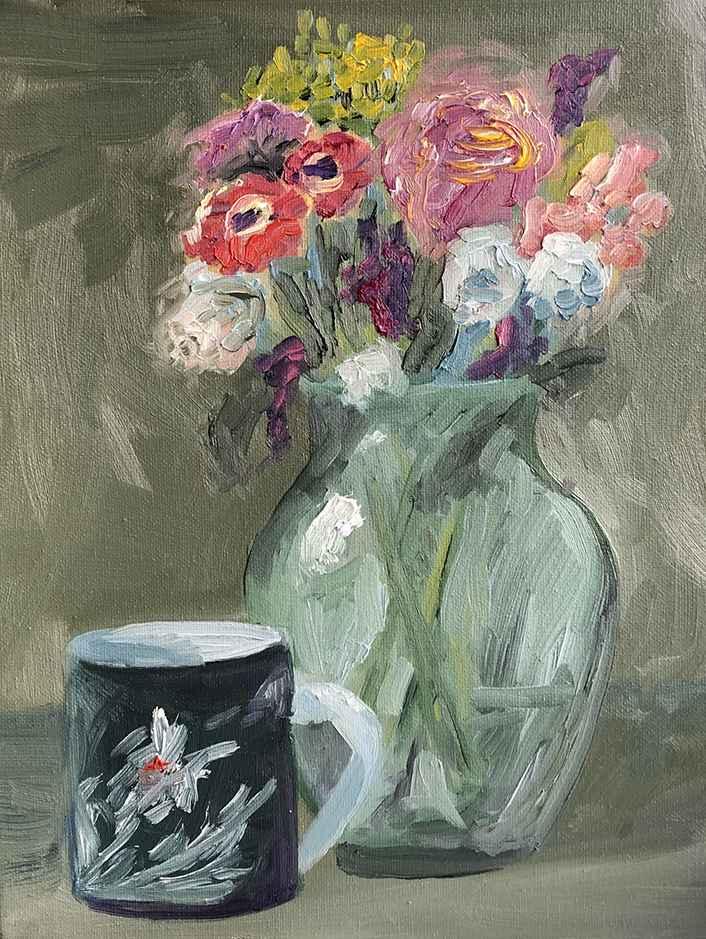 Bouquet  by  Lauren Proud