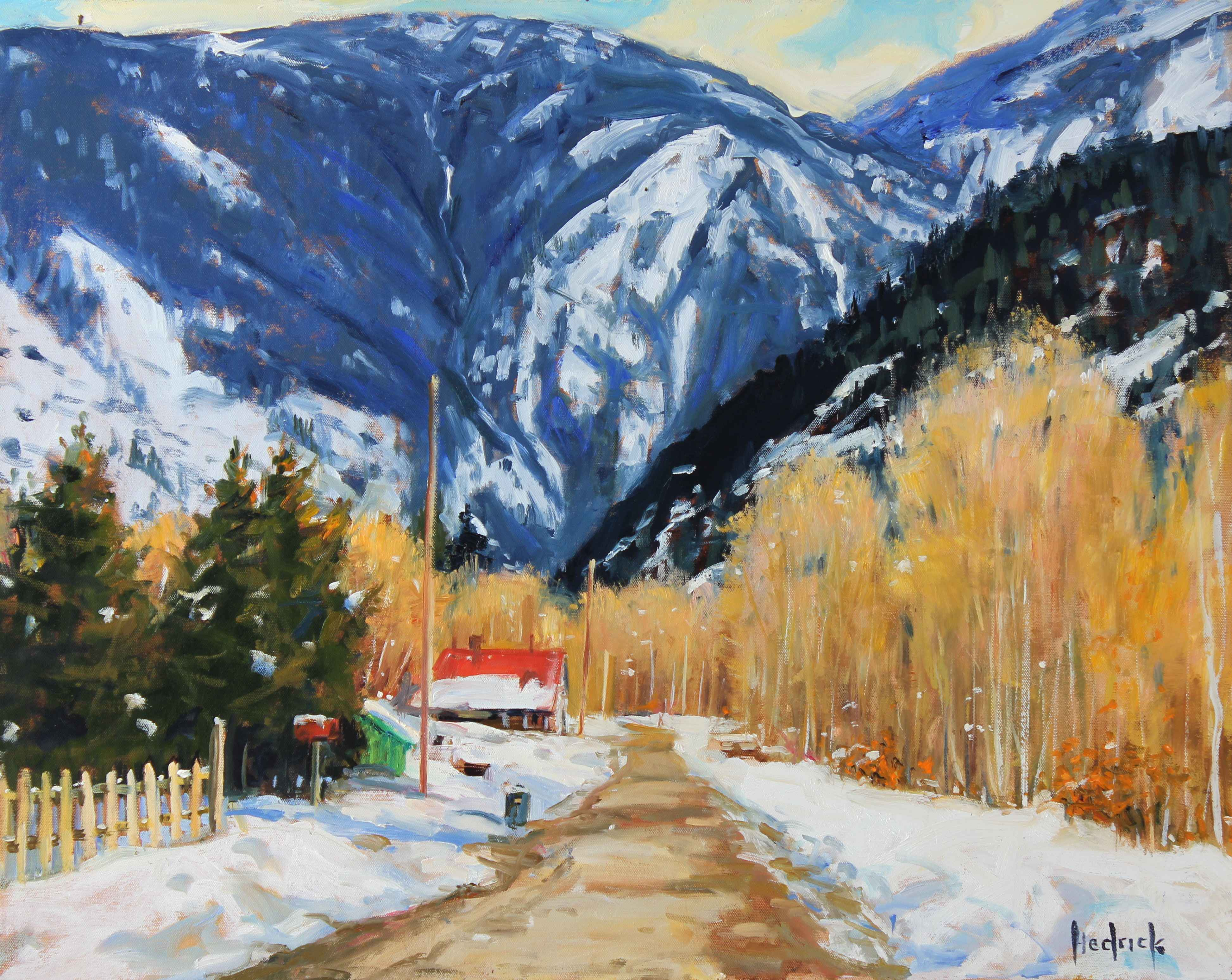 Winter Road, Yale BC represented  by  Ron Hedrick