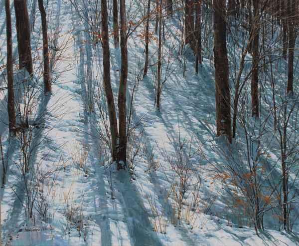 Winter Walk - Up the ... by  Michael Wheeler - Masterpiece Online