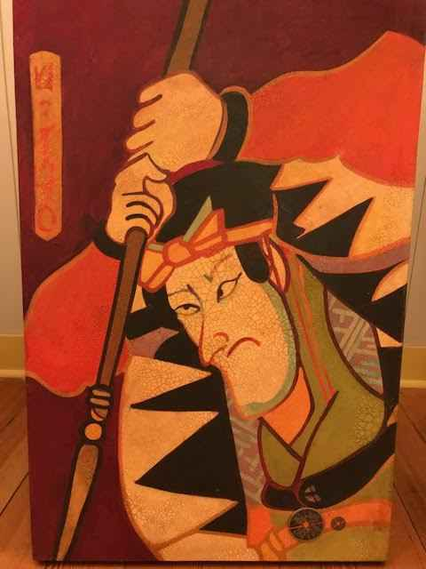Seventh Warrior by  Darrell Hill (1941-2013) - Masterpiece Online