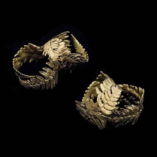 Fern Napkin Rings (Set of 4)
