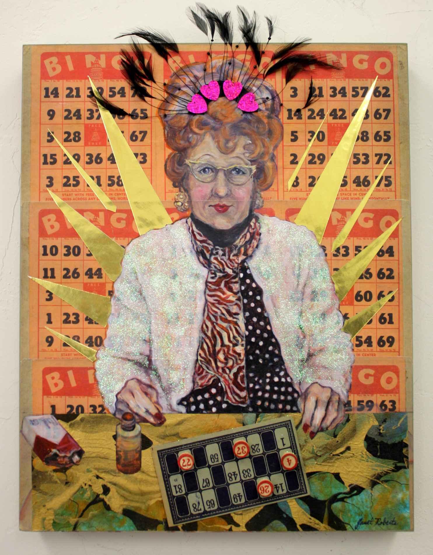 Bingo Queen by  Janet Roberts - Masterpiece Online