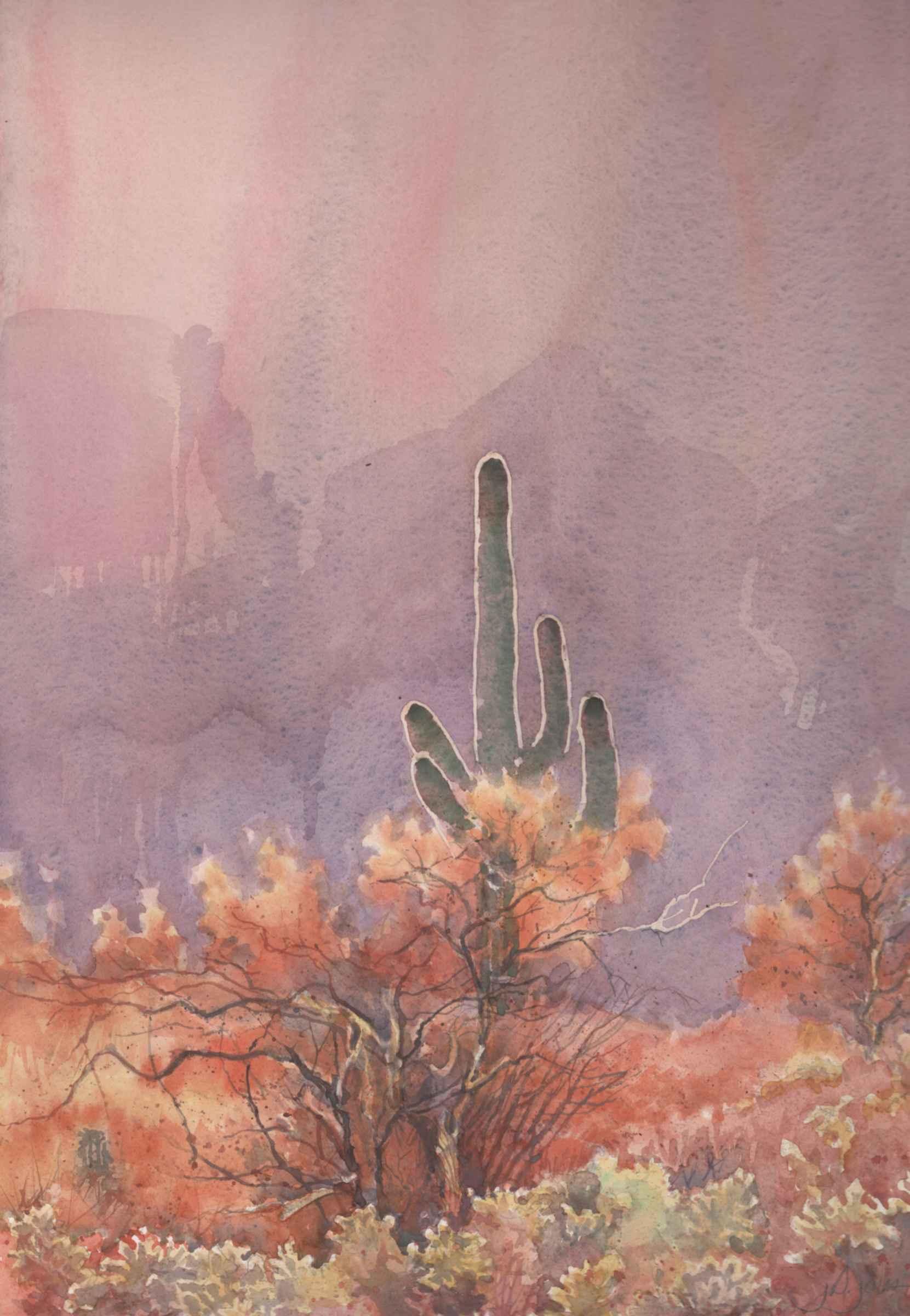 Cactus Lights  by  James Jones