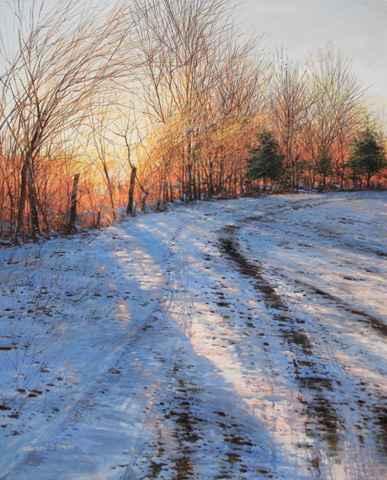Morning Glow - January by  Michael Wheeler - Masterpiece Online