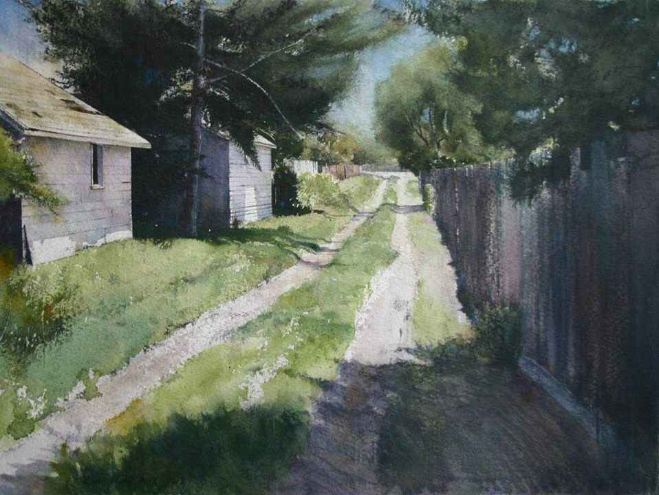 Alley Way by  Lane Hall - Masterpiece Online