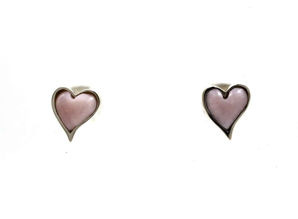 Heart Post Earrings by  Ben Nighthorse - Masterpiece Online