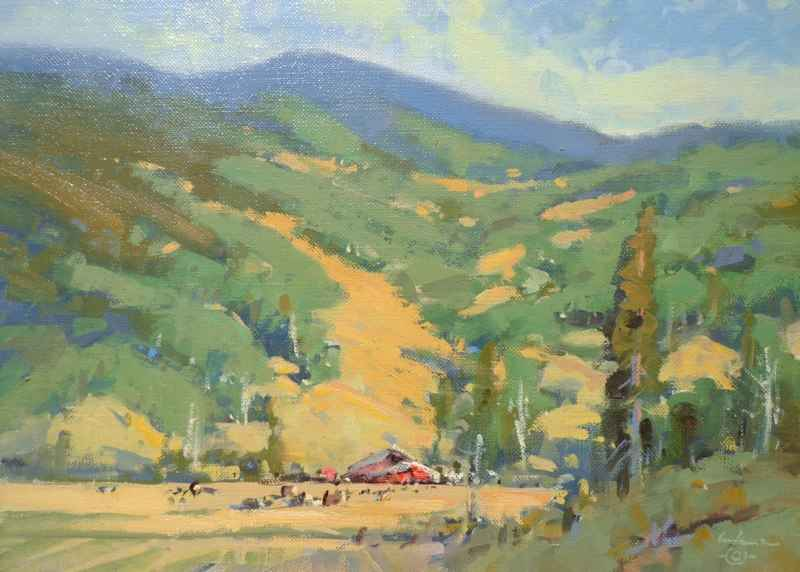 August South of Town by Mr. Gene Costanza - Masterpiece Online