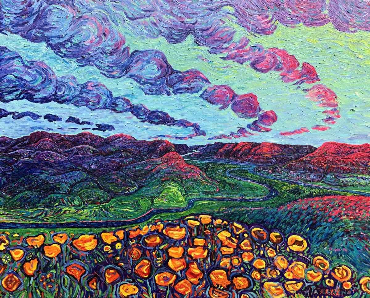 California Poppies by  Heather Pasqualino - Masterpiece Online
