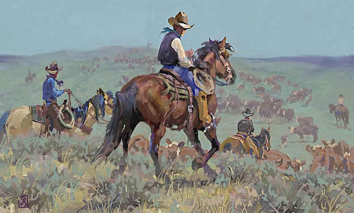 Back Trail AL (LG) by Mr. & Mrs. Jim Rey - Masterpiece Online
