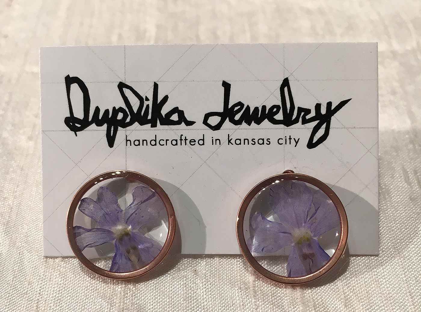 Duplika Purple and Ro...  by   Artisan Jewelry
