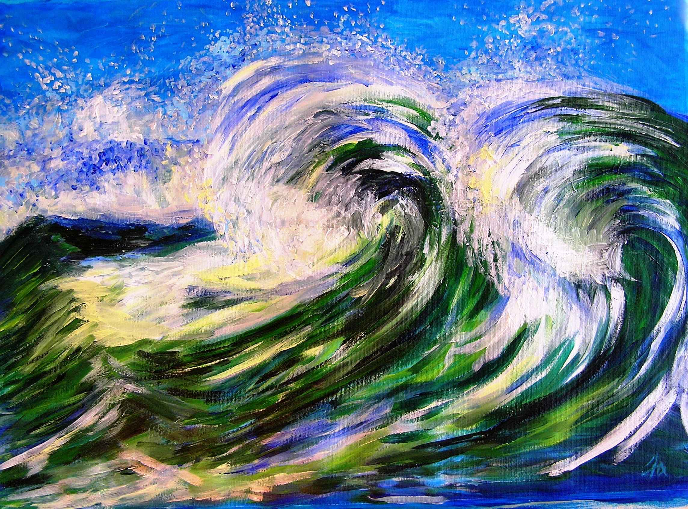 Waves by Mme Ioana JITARU - Masterpiece Online