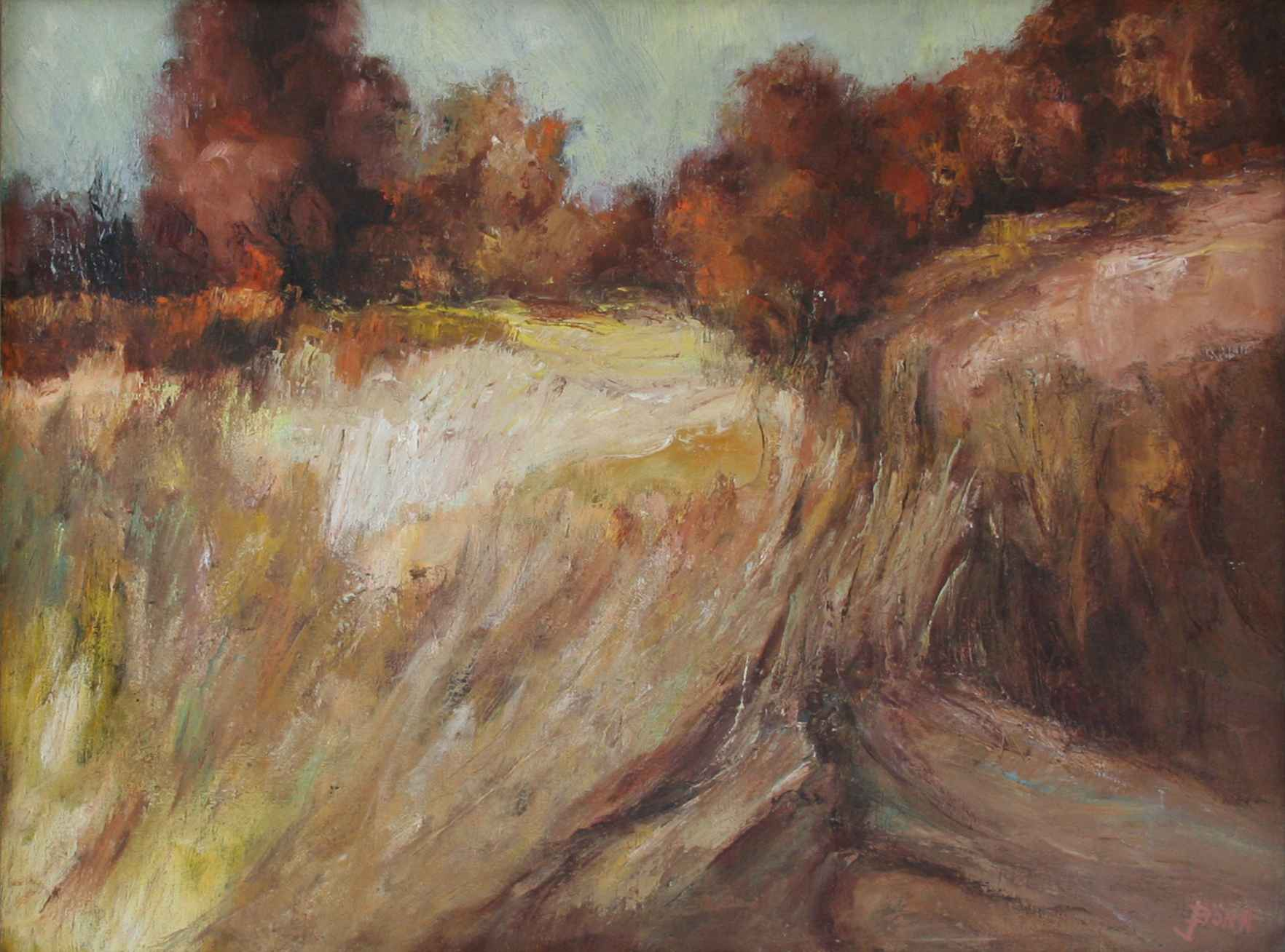 Joan Born - Field Of ... represented  by  Resale Gallery