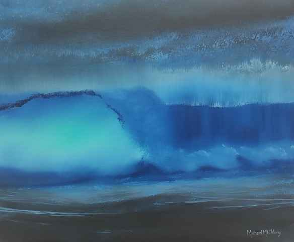 Shorebreak 1 by Mr Michael Mcchlery - Masterpiece Online