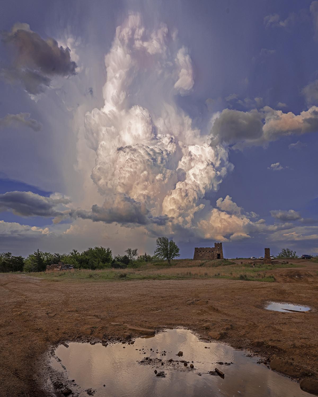 Coronado Castle Storm... by  George Jerkovich - Masterpiece Online
