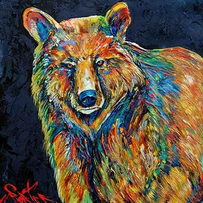 Bear 181595 by  Brian Porter - Masterpiece Online