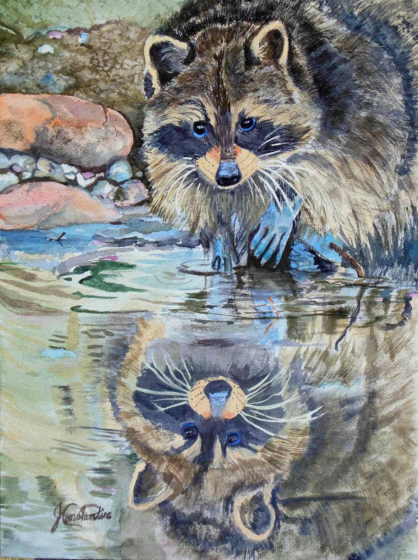 Fishin' by  Judy Constantine - Masterpiece Online