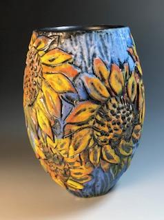 Sunflower Vase II