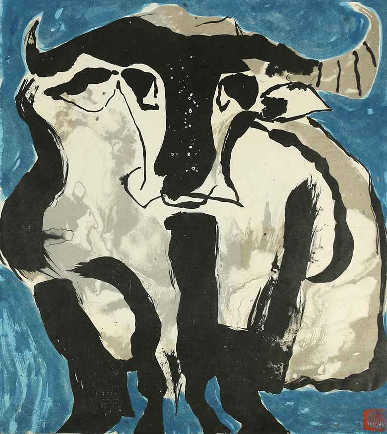 Cow by  Karyn Young - Masterpiece Online