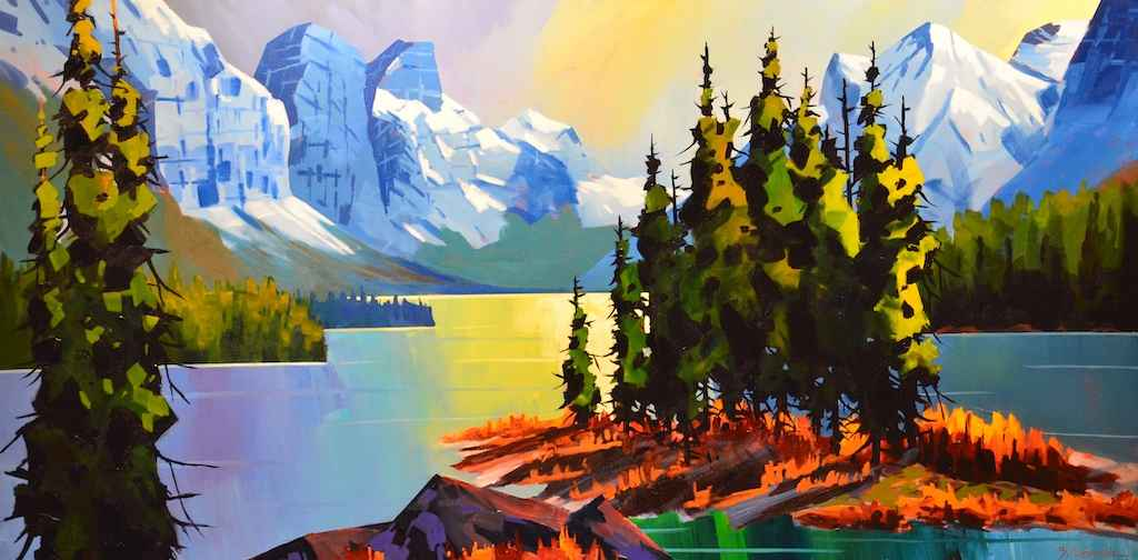 Charming Spirit Island by  Branko Marjanovic - Masterpiece Online
