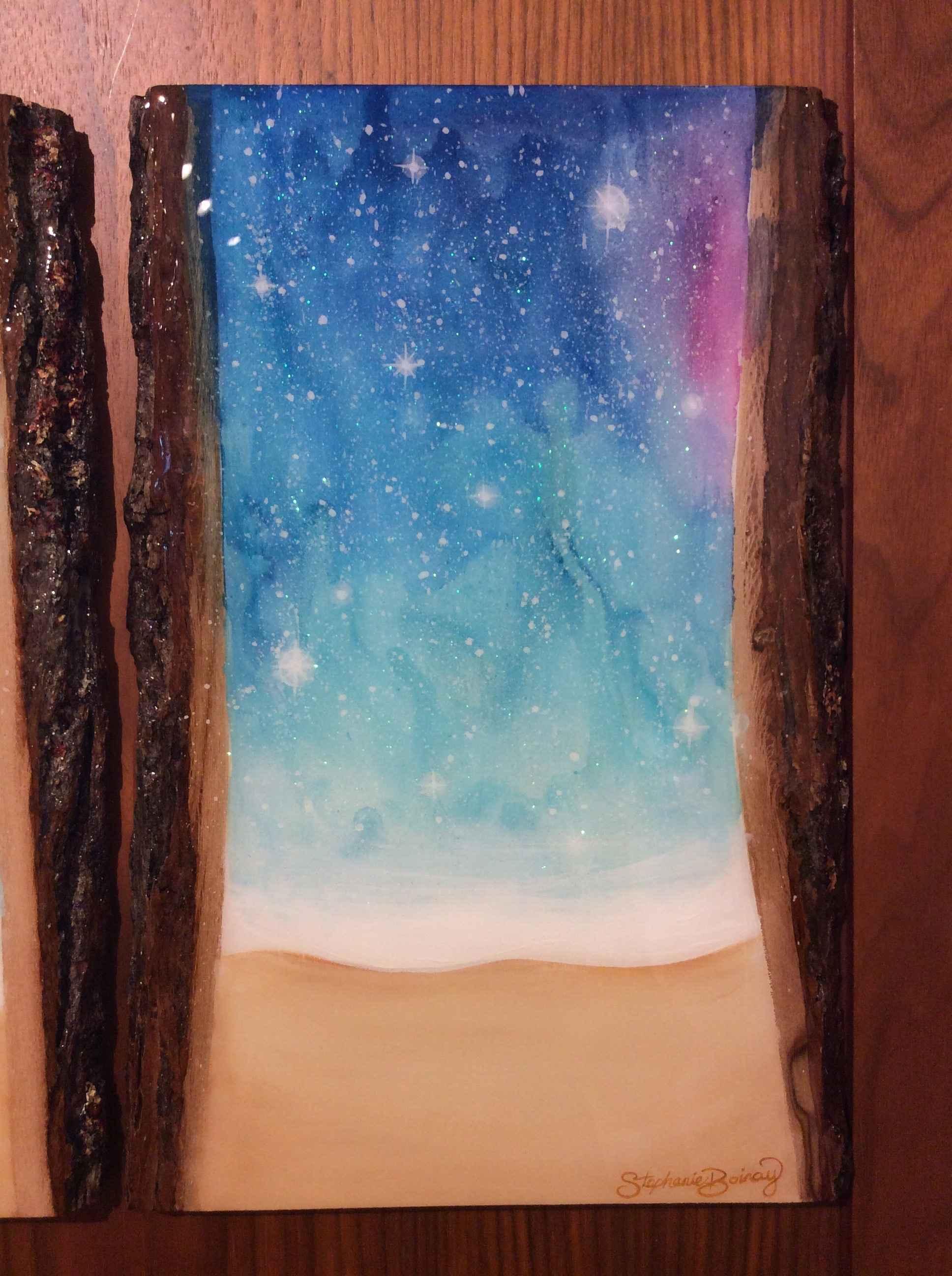 "SB - ""Shimmering"" Nig... by  Stephanie Boinay - Masterpiece Online"