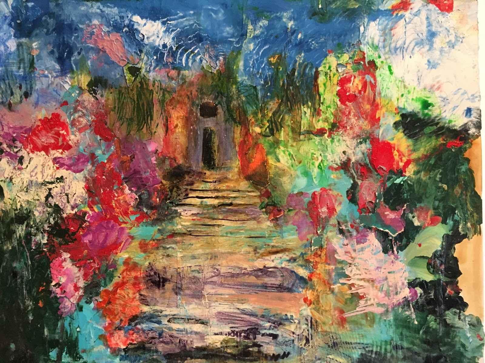 Garden Path  by  Linda McKie McClellan