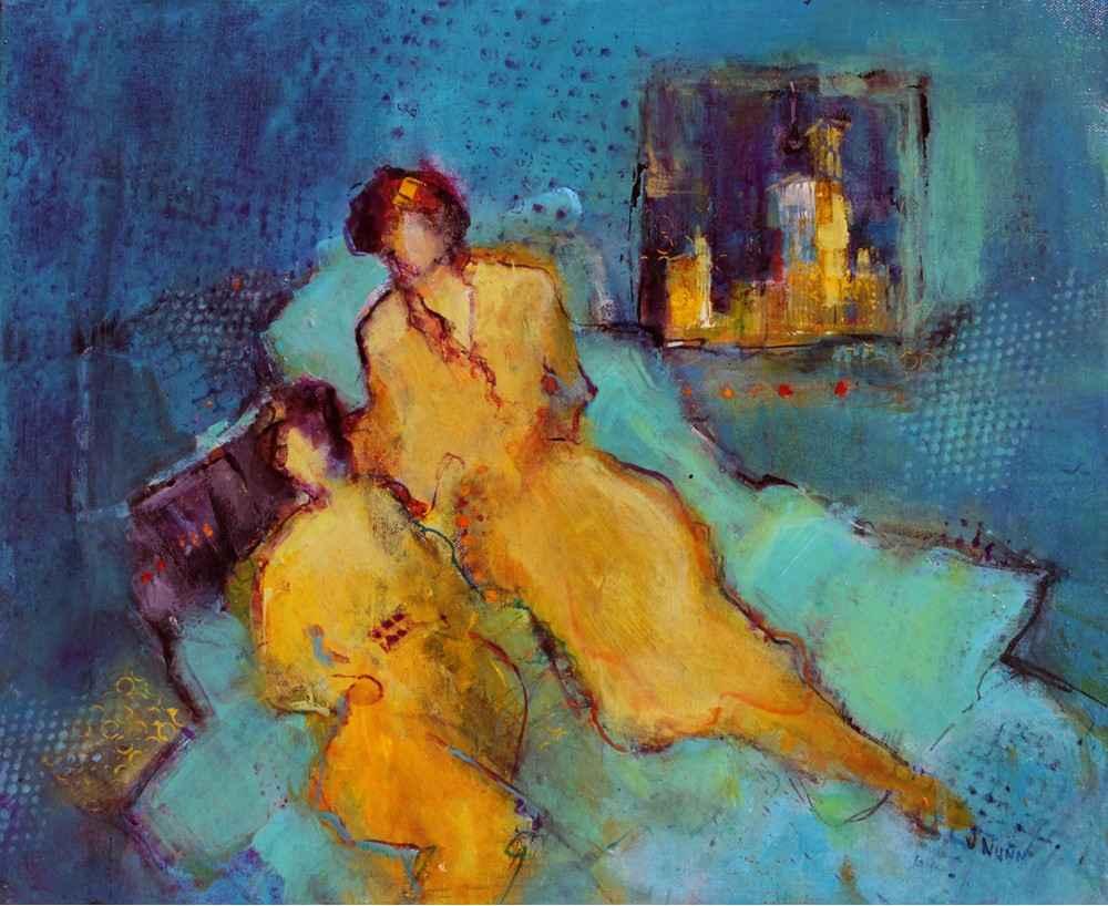 Night Train by  Jonlee Nunn - Masterpiece Online