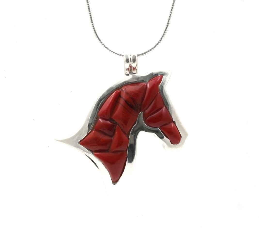 Lucky Horse Pendant by  Ben Nighthorse - Masterpiece Online