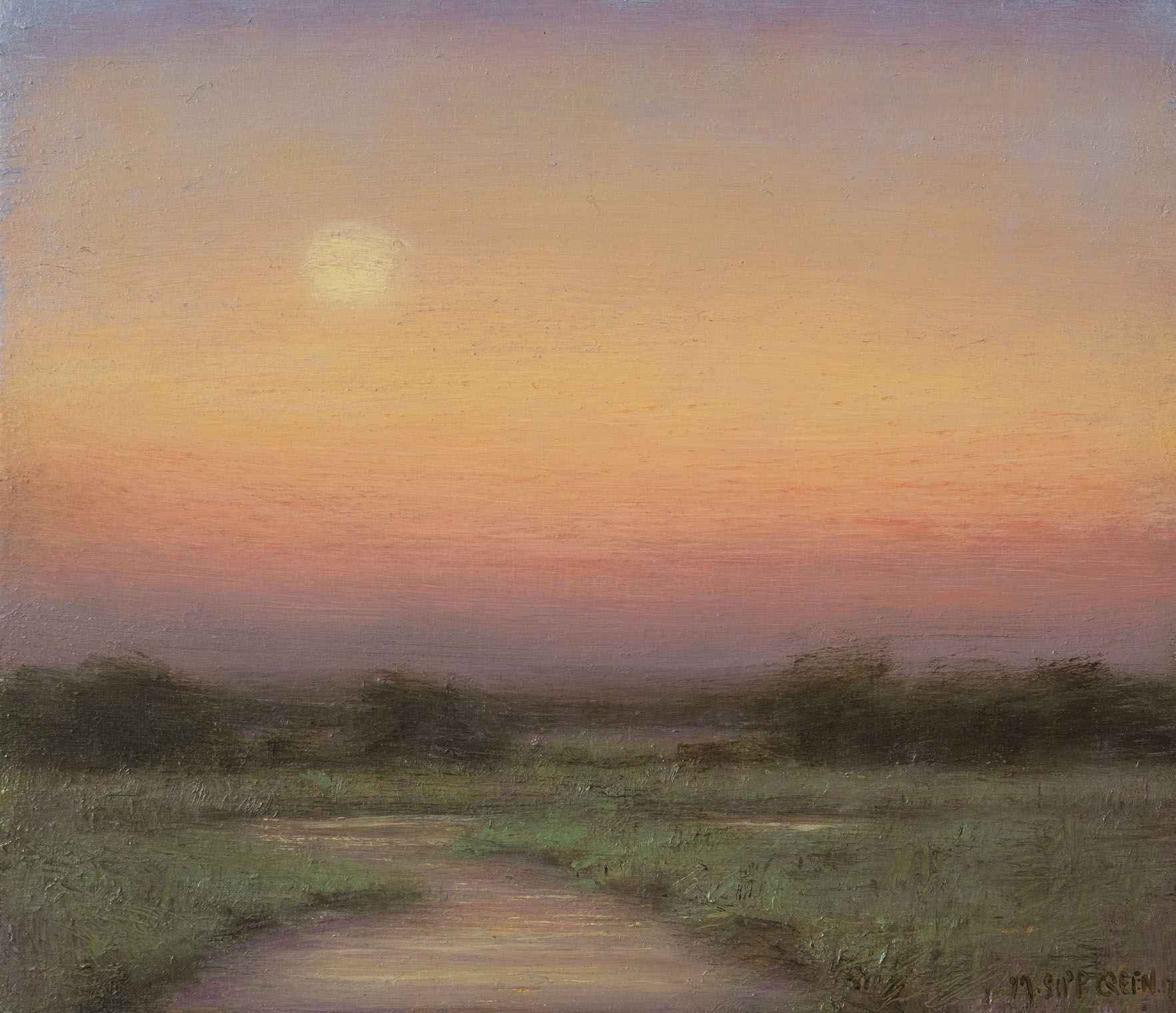 Twilight on the Marsh... by  Mary Sipp Green - Masterpiece Online