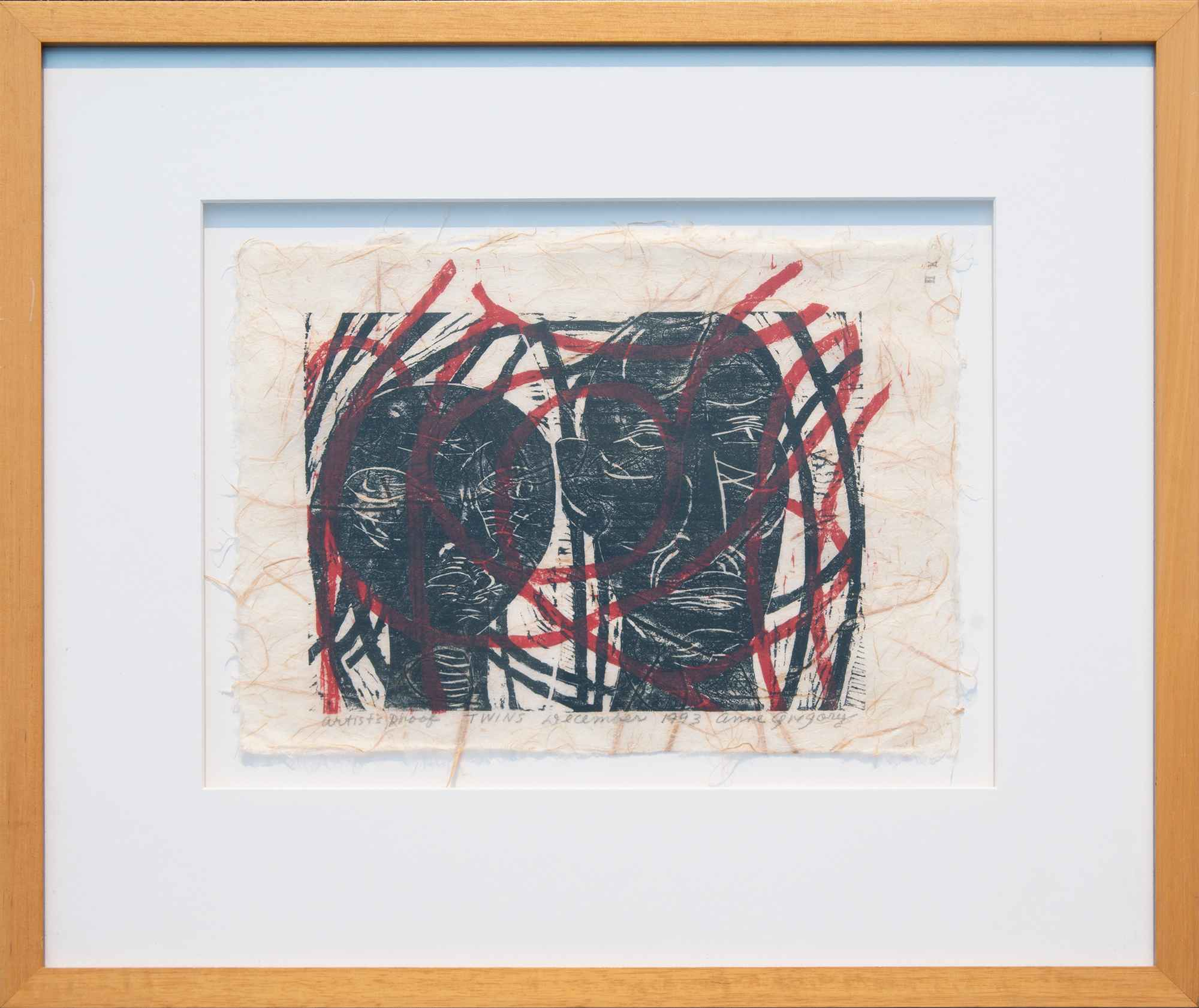Anne Gregory - Twins ...  by  Resale Gallery
