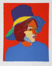 Girl with Hat VI by  John Grillo - Masterpiece Online