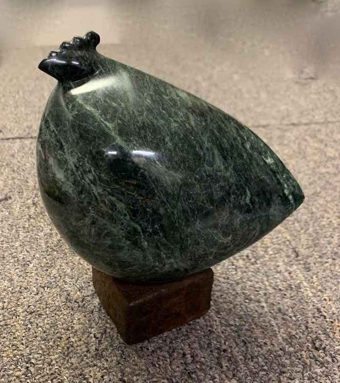 Unique Marble Hen II by  Peter Woytuk - Masterpiece Online