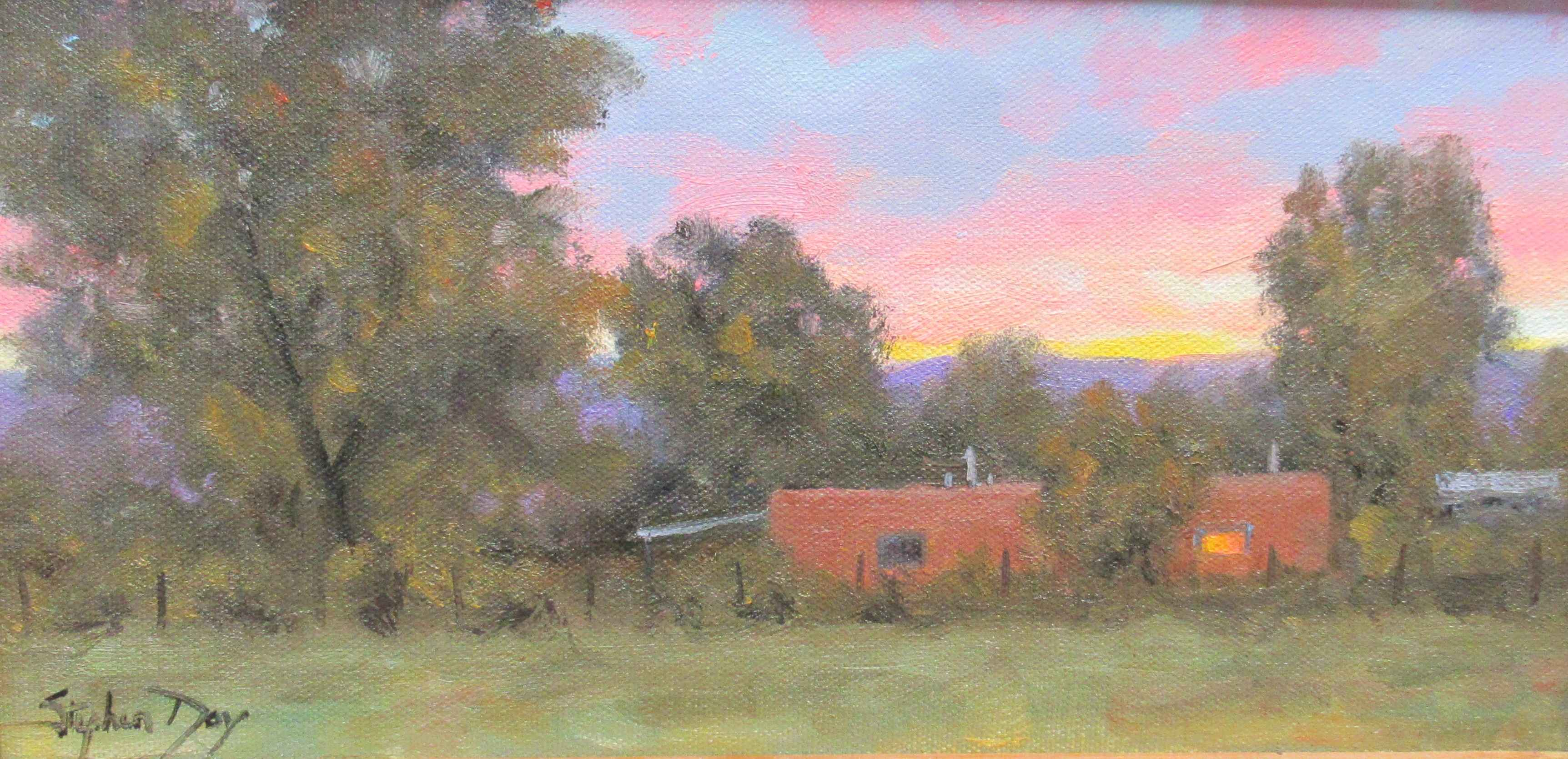 In the Evening - Taos by  Stephen Day - Masterpiece Online