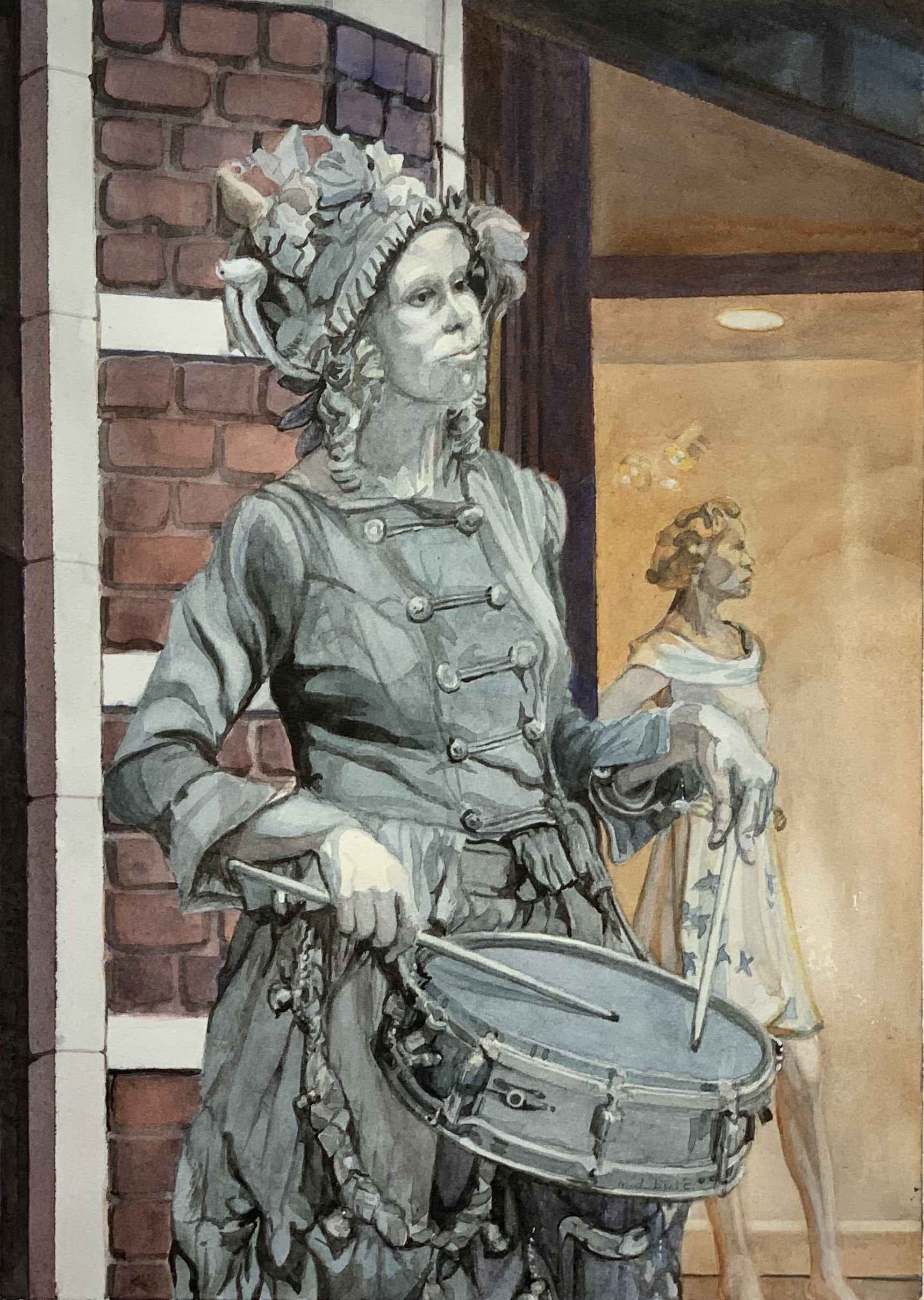 Automaton and Mannequ... by  Margaret Buie - Masterpiece Online