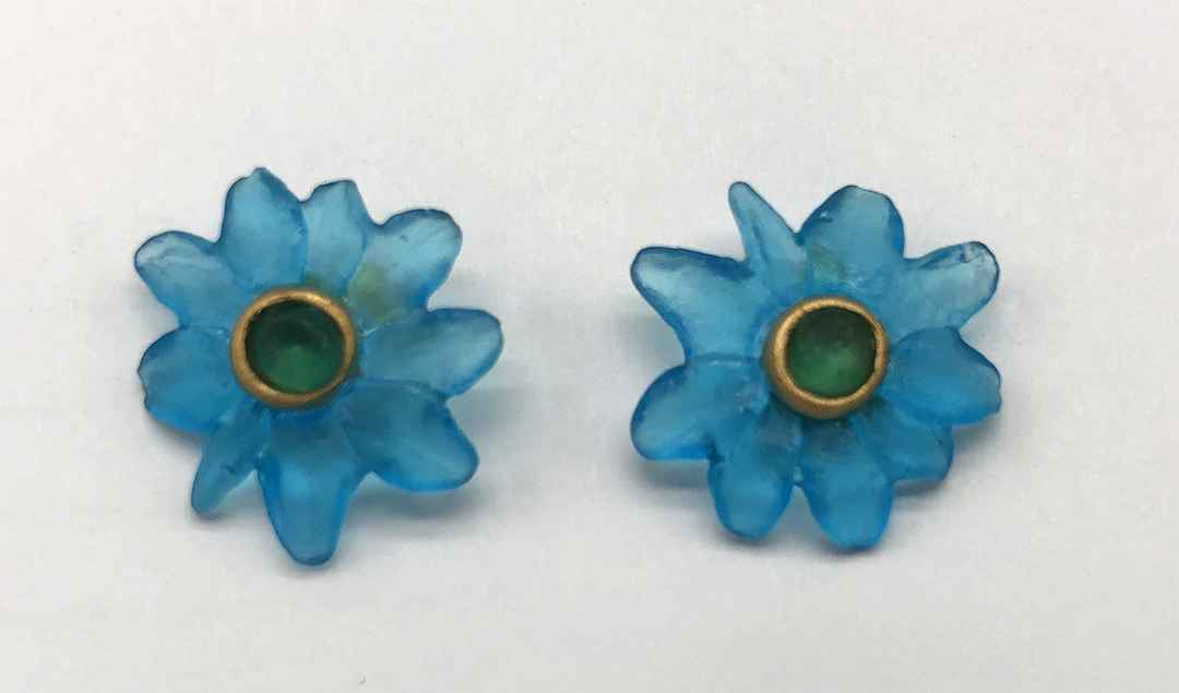 Margarita Post Earrings 5/8