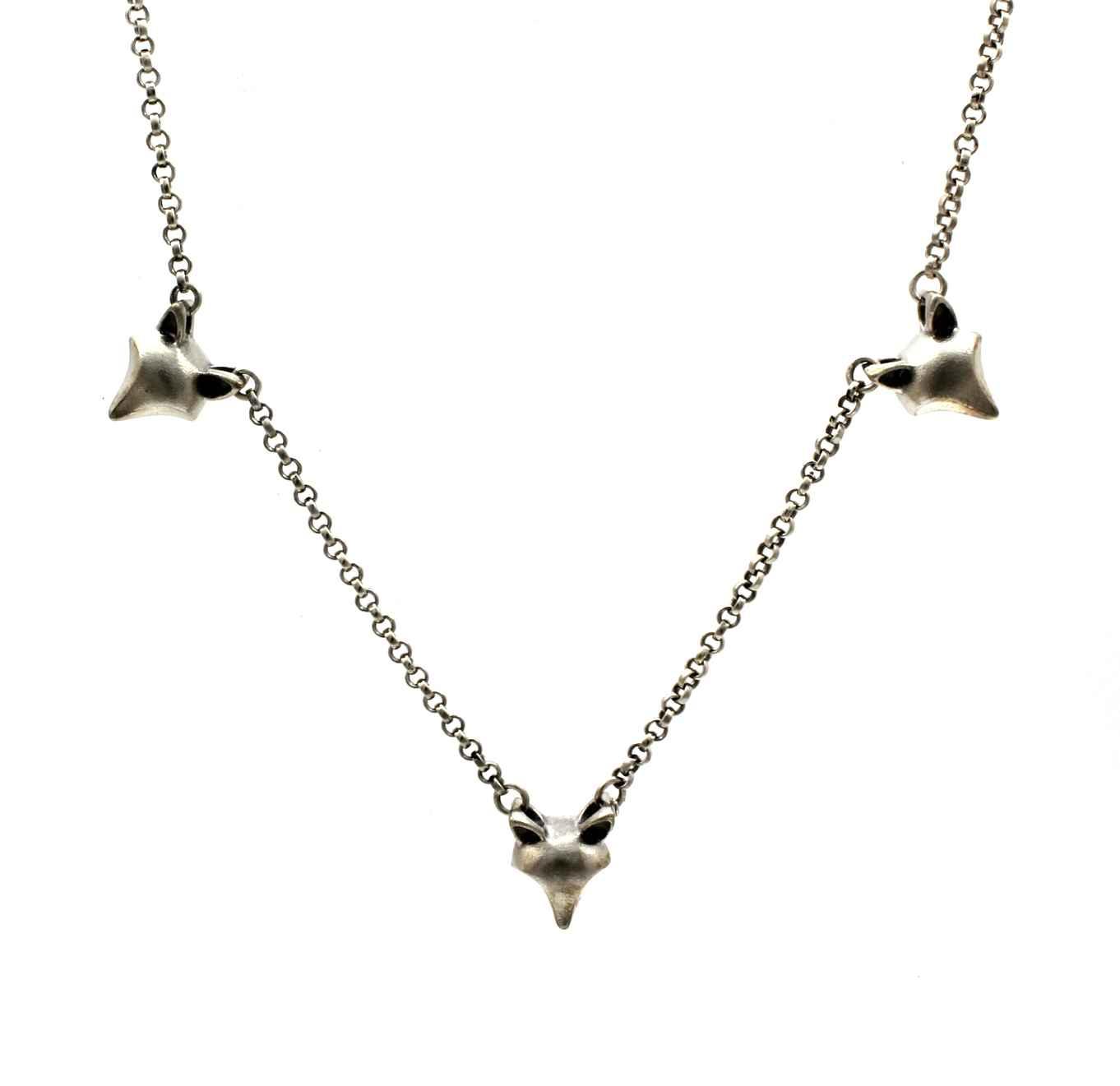 Fox Kit Necklace by  Michael Tatom - Masterpiece Online