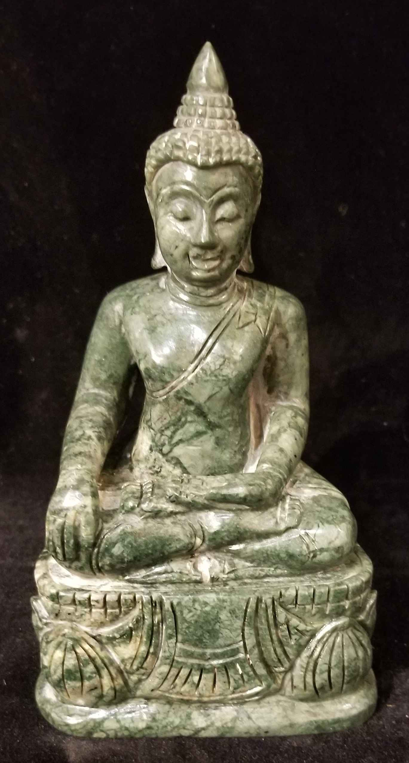 Jade Buddha by  Gallery Pieces - Masterpiece Online