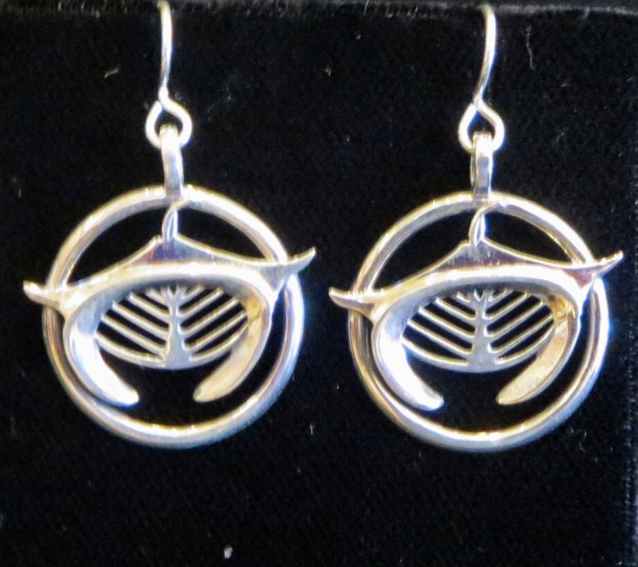 Manta Ray Earrings by Capt. Thomas Eimer - Masterpiece Online
