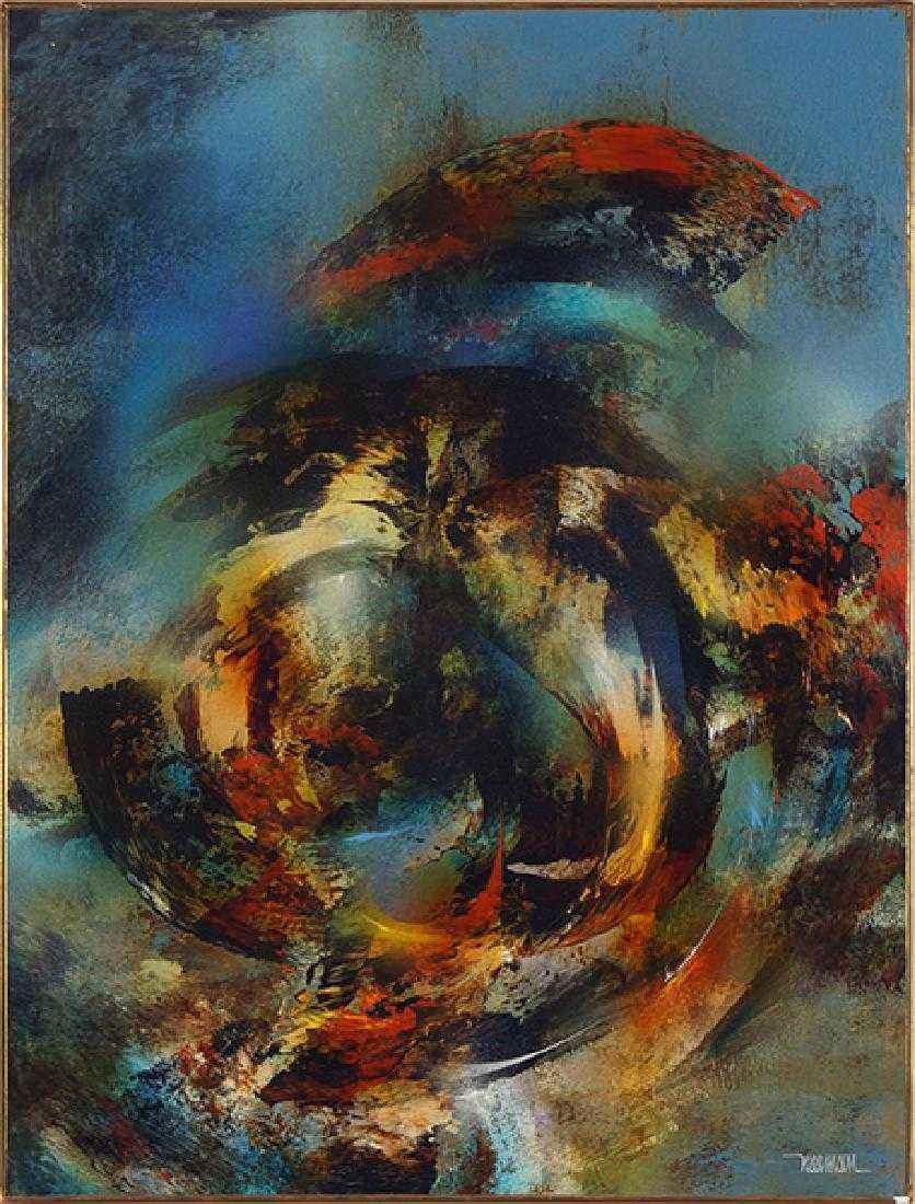 Whirlwind by  Leonardo Nierman - Masterpiece Online
