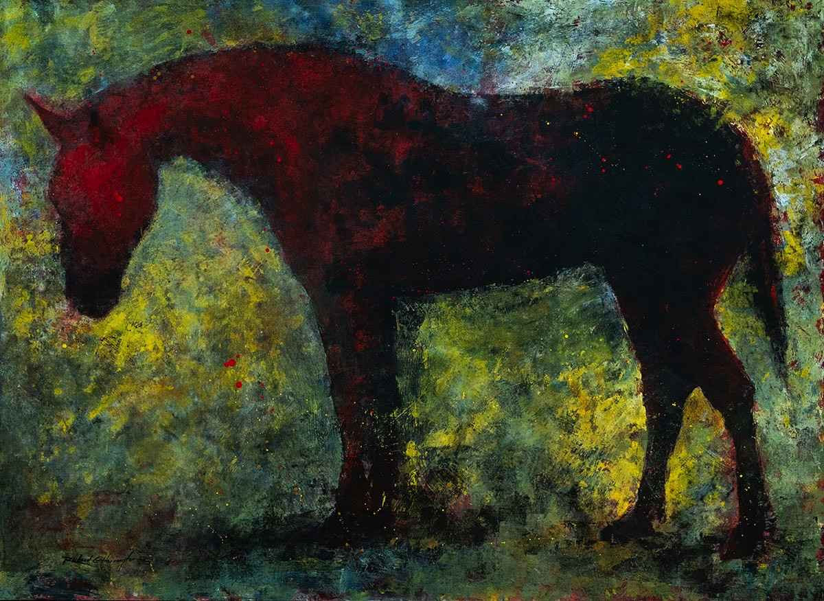 Red Horse by  Richard Harrington - Masterpiece Online