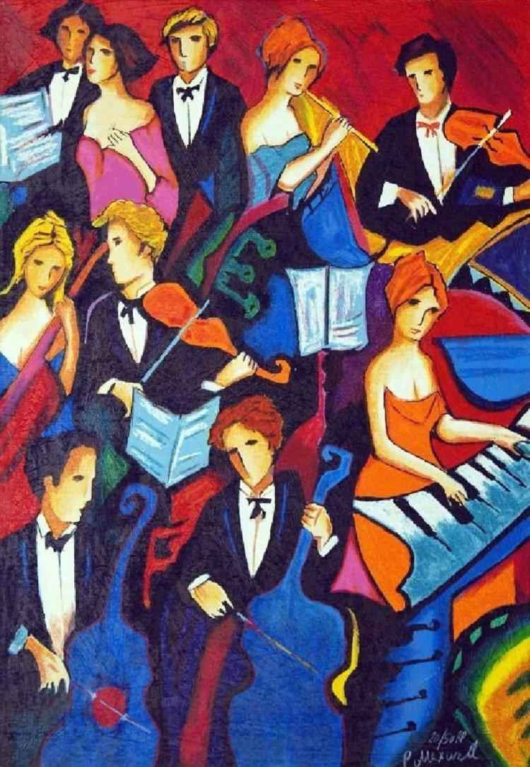 The Orchestra by  Phillip Maxwell - Masterpiece Online