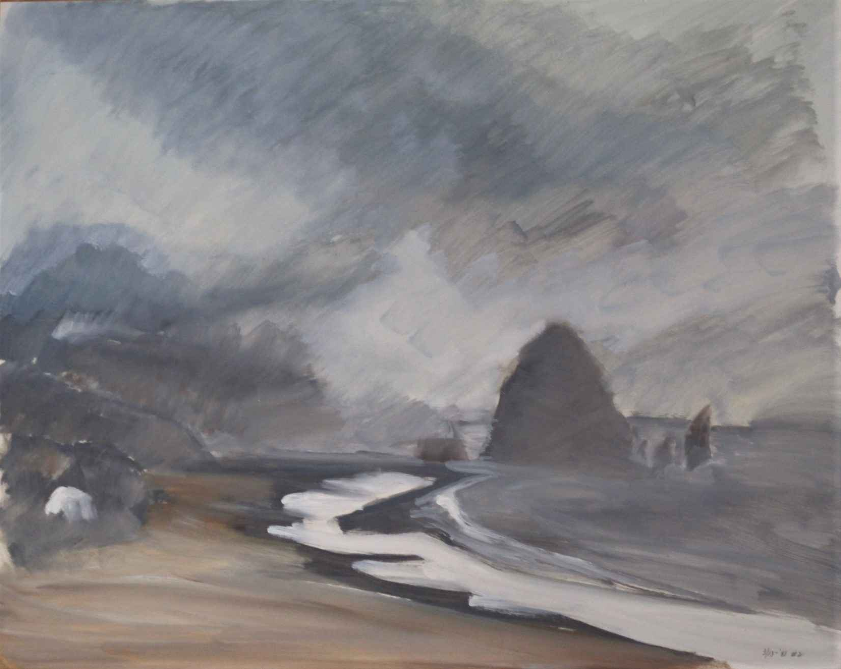 Untitled (Haystack Ro... by  Shirley Gittelsohn - Masterpiece Online