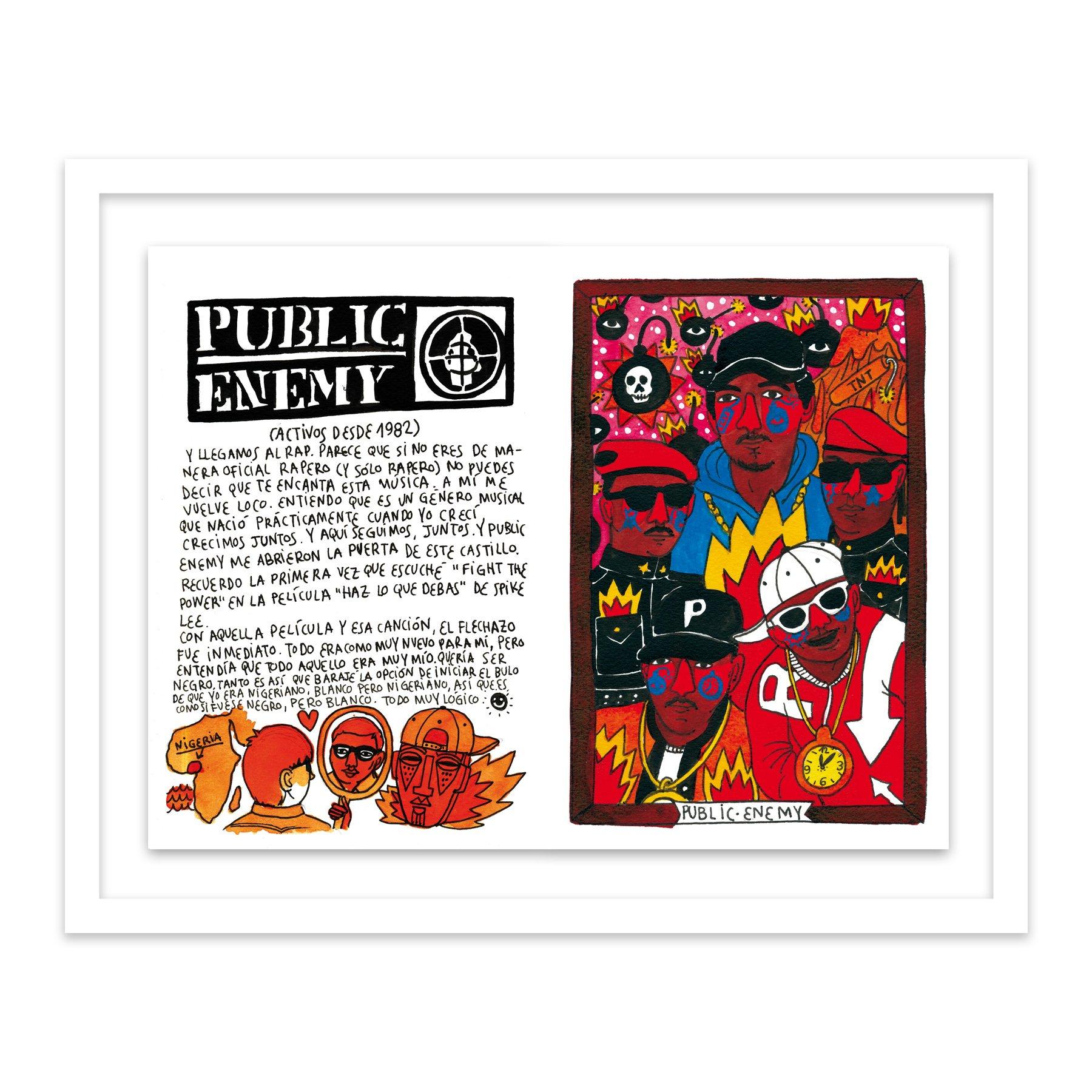 101 Public Enemy by  Ricardo Cavolo - Masterpiece Online