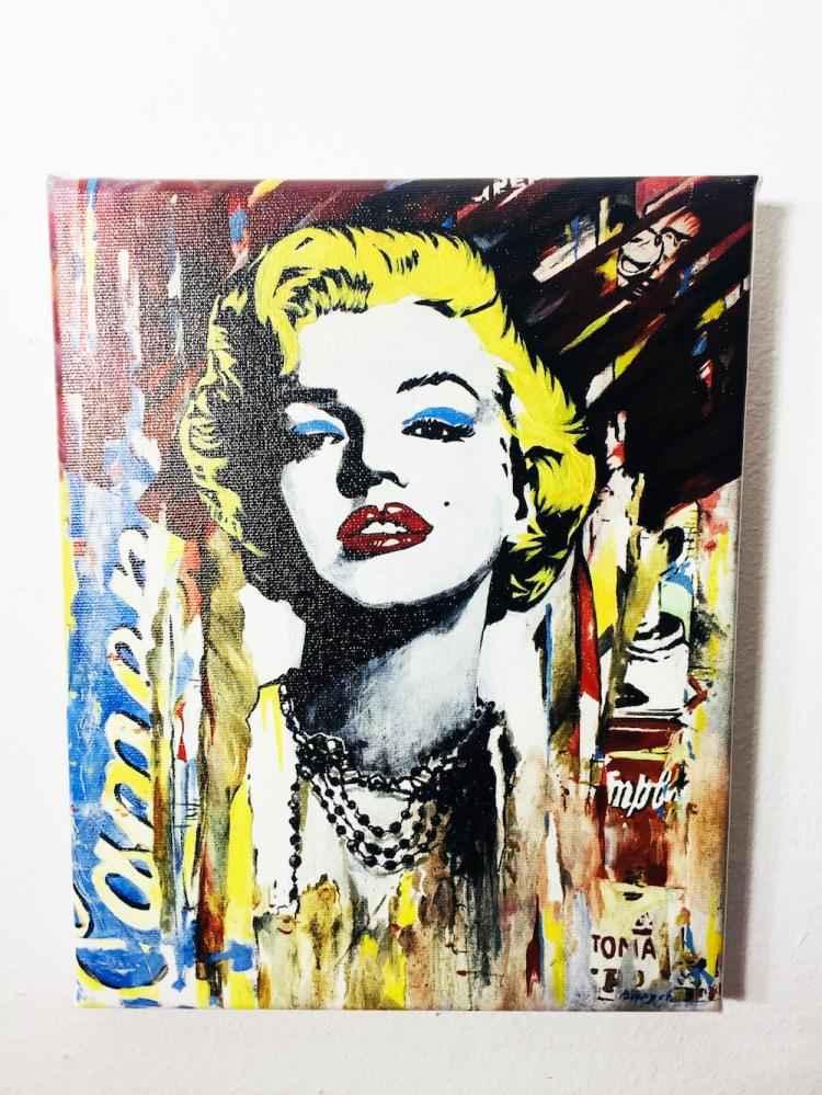 Marilyn Monroe by  Nastya Rovenskaya - Masterpiece Online