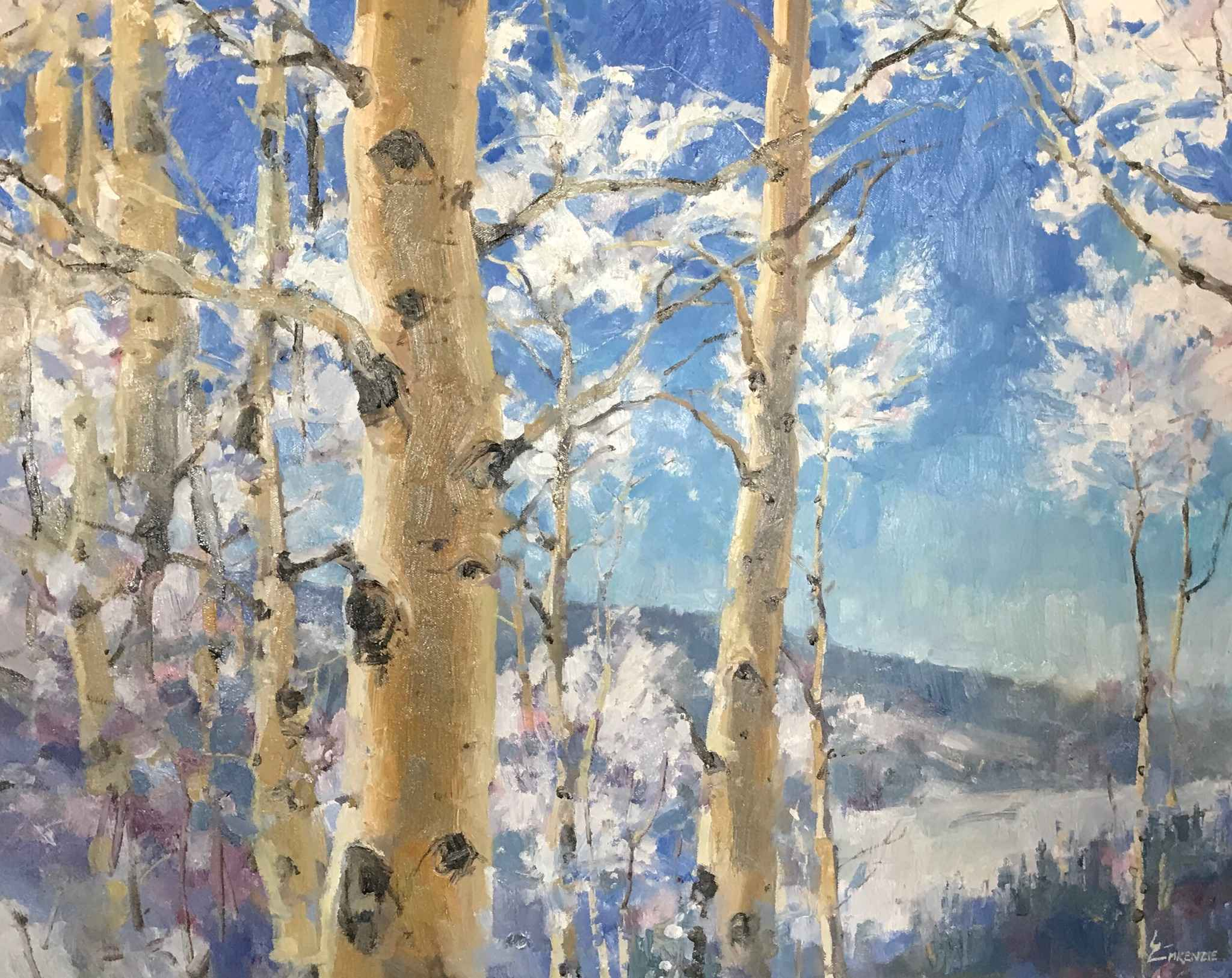 Sparkly Aspens by Mr. Wayne McKenzie - Masterpiece Online