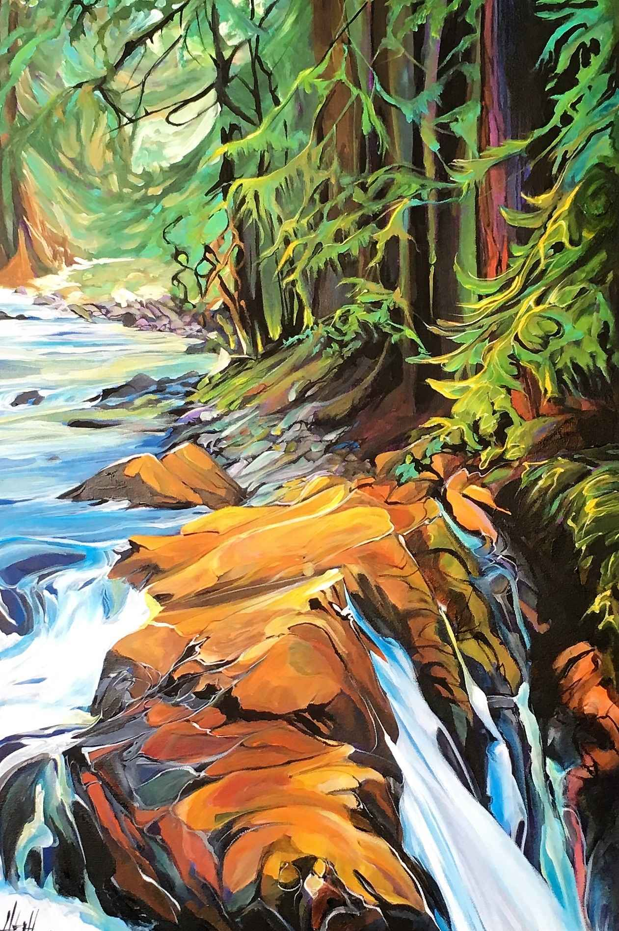 Gold Creek by  Heather Pant - Masterpiece Online