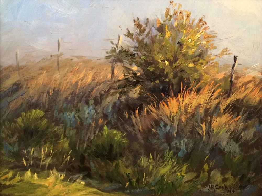 Scene North of Bowie by  JR Cook - Masterpiece Online