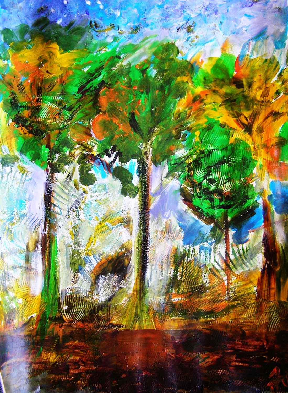 Automne vert by Mme Ioana JITARU - Masterpiece Online