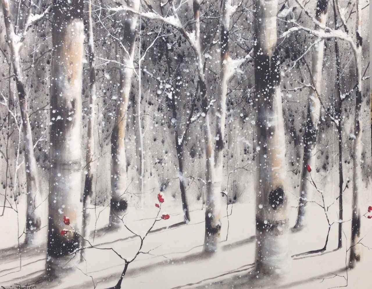 Snow Laden by  Doris Pontieri - Masterpiece Online